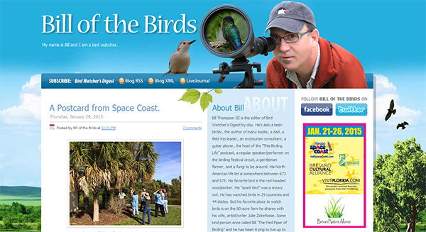 Bill of the Birds Blog