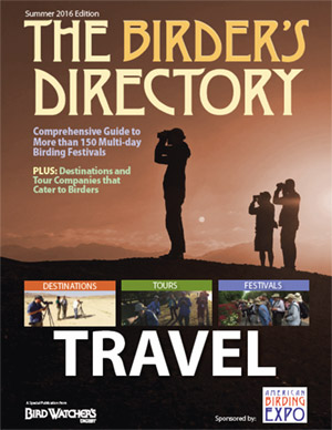 Birder's Directory: Travel Issue