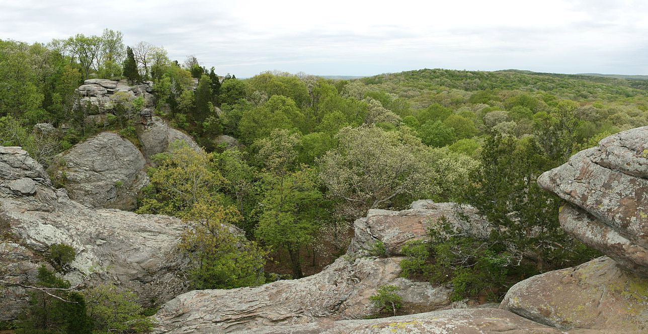 garden of the gods in shawnee national forest in illinois photo by d schwen - Shawnee National Forest Garden Of The Gods