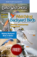 SAVE 44% + FREE GUIDE: Helping Birds in Winter!